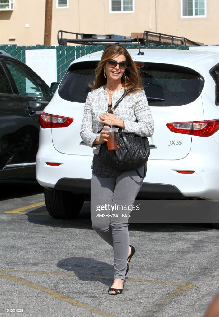 Maria Shriver as seen on March 22, 2013 in Los Angeles, California.