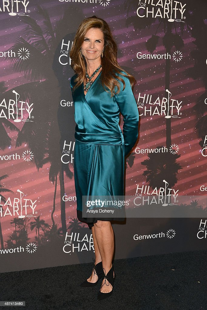 Maria Shriver attends the 3rd Annual Hilarity for Charity Variety Show to benefit the Alzheimer's Association presented by Genworth at Hollywood...