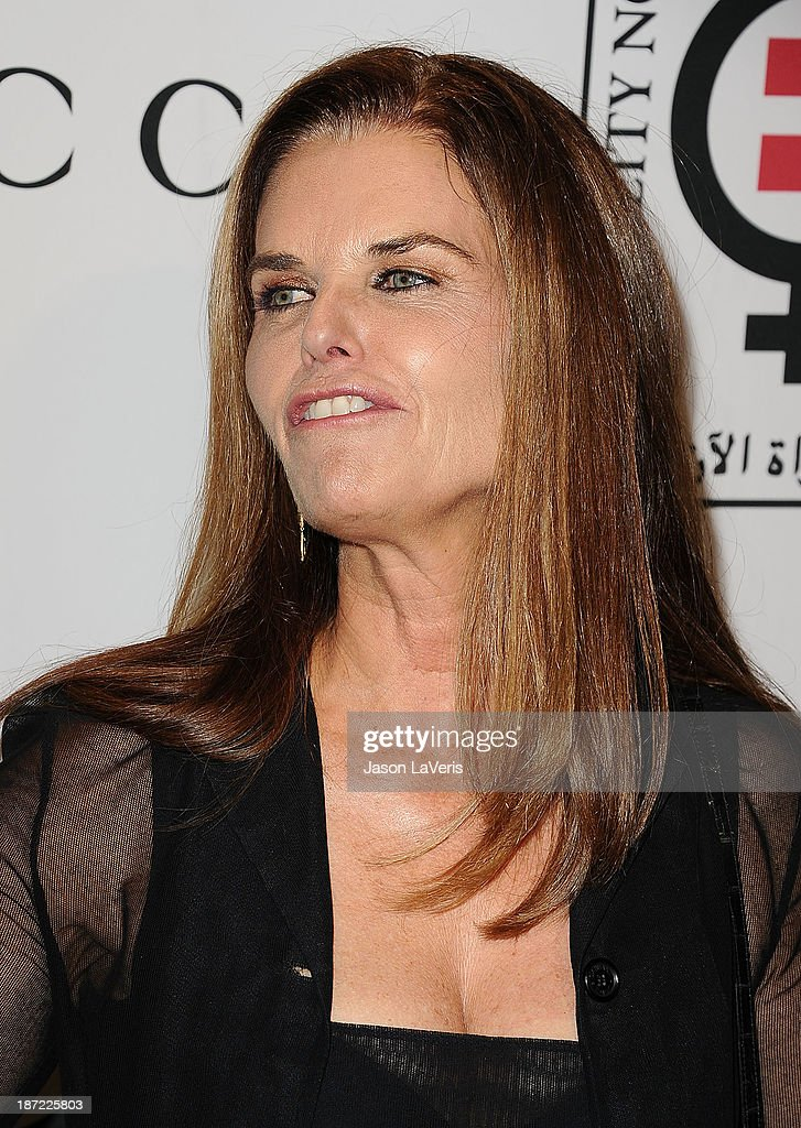 <a gi-track='captionPersonalityLinkClicked' href=/galleries/search?phrase=Maria+Shriver&family=editorial&specificpeople=179436 ng-click='$event.stopPropagation()'>Maria Shriver</a> attends the 'Make Equality Reality' event at Montage Beverly Hills on November 4, 2013 in Beverly Hills, California.