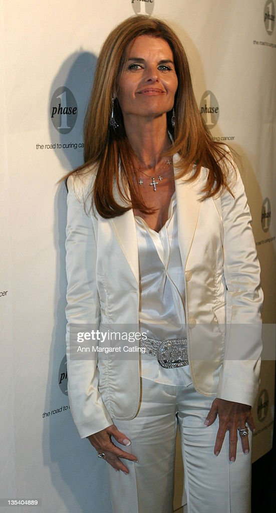 Maria Shriver during Phase One Gala Fundraiser at Regent Beverly Wilshire Hotel in Beverly Hills CA United States