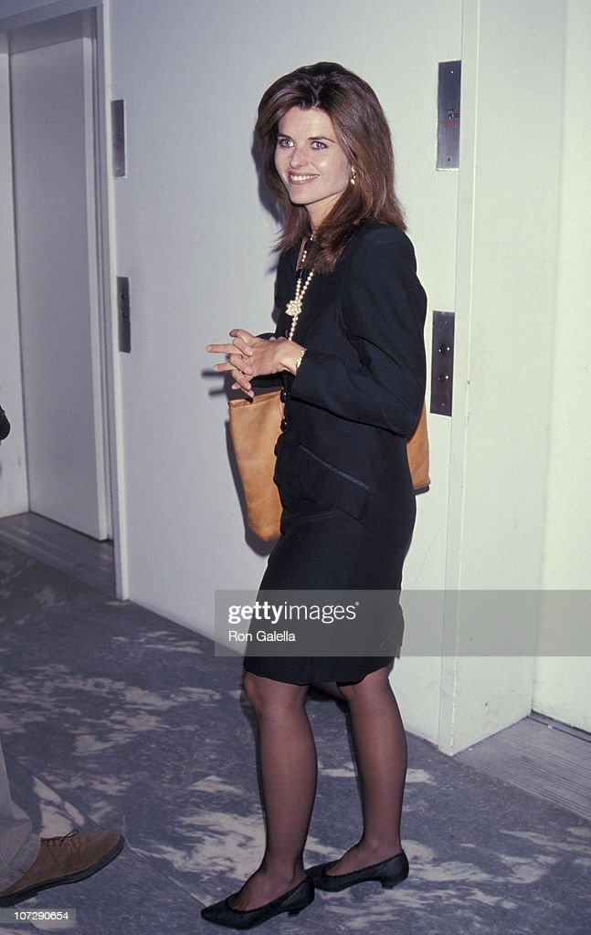 Maria Shriver during Screening of 'Casablanca' at Museum of Modern Art in New York City New York United States