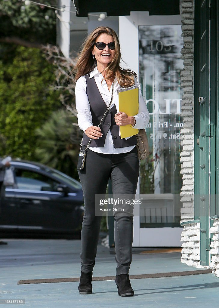 Maria Shriver is seen in Los Angeles CA on October 30 2014 in Los Angeles California