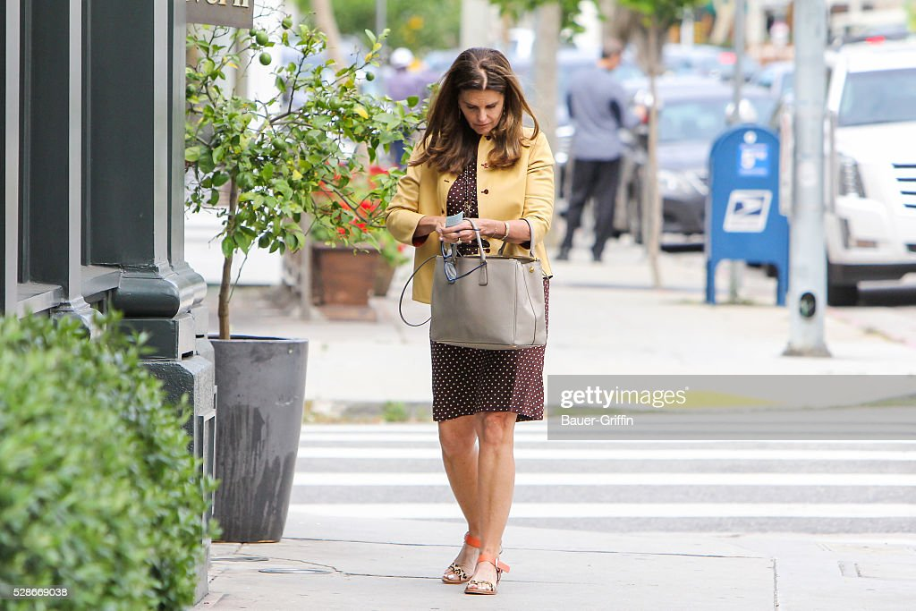 Maria Shriver is seen on May 06, 2016 in Los Angeles, California.