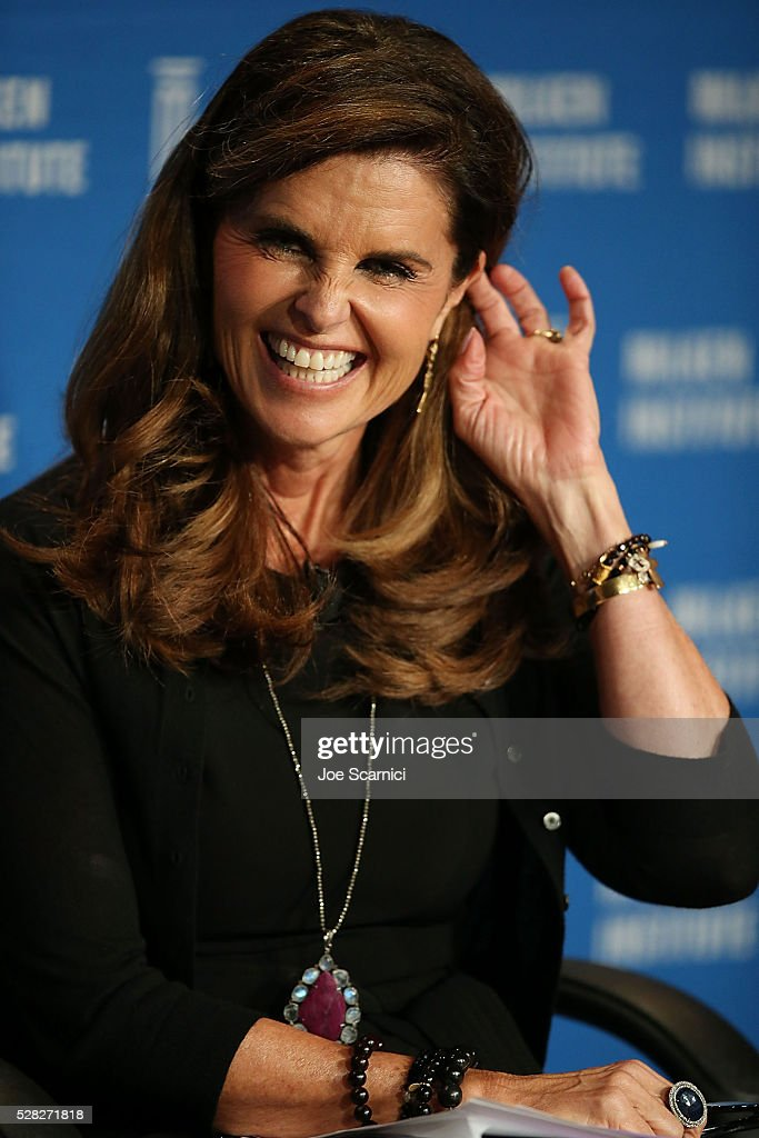 <a gi-track='captionPersonalityLinkClicked' href=/galleries/search?phrase=Maria+Shriver&family=editorial&specificpeople=179436 ng-click='$event.stopPropagation()'>Maria Shriver</a> speaks onstage at the 2016 Milken Institute Global Conference on May 04, 2016 in Beverly Hills, California.