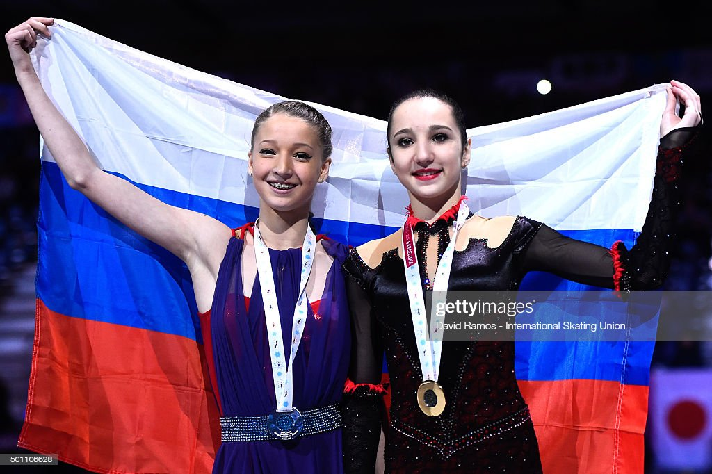 Полина Цурская - Страница 2 Maria-sotskova-of-russia-and-silver-medal-and-polina-tsurskaya-of-picture-id501106628