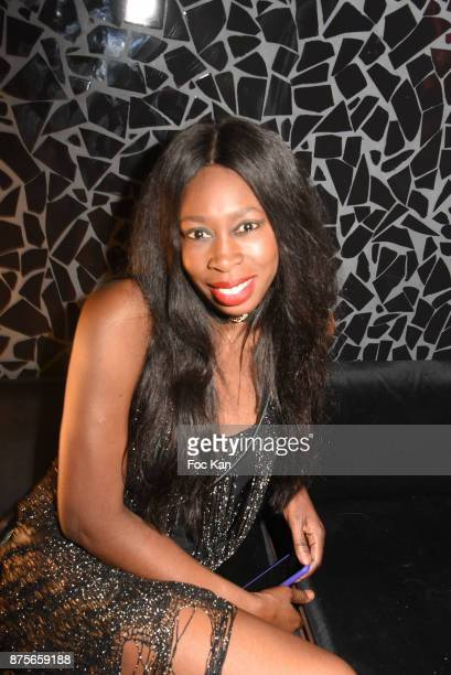 Maria Sow attends 'Le Temps Retrouve' Party at Les Bains on November 17 2017 in Paris France