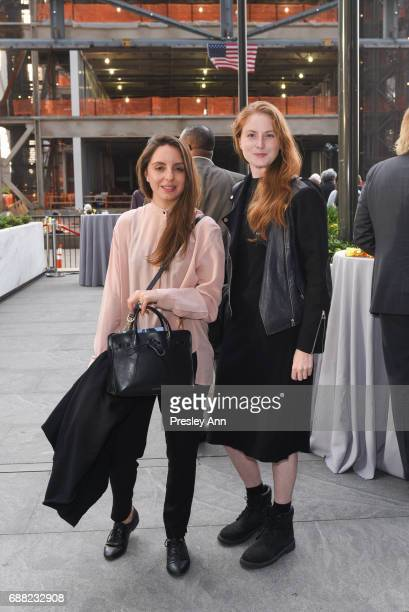 Maria Sprouts and Alexa Dela attend The Shed First Reveal VIP Cocktail Party at The Shed on May 24 2017 in New York City