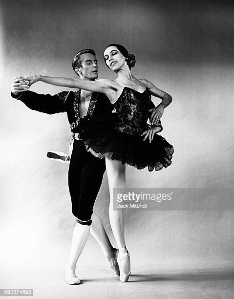 Maria Tallchief and Erik Bruhn in New York City Ballet's 1960 'Don Quixote' pas de deux