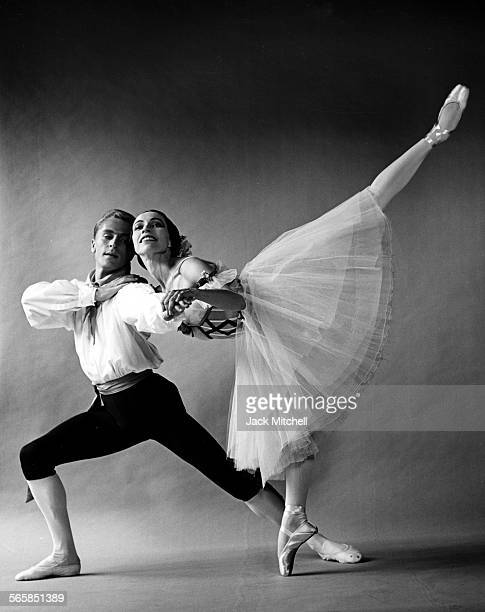 Maria Tallchief and Erik Bruhn Photographed in 1961 Photo by Jack Mitchell/Getty Images