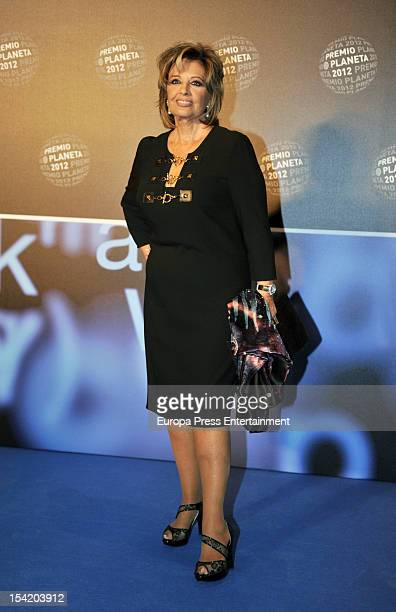 Maria Teresa Campos attends '2012 Premio Planeta' literature award the most valuable literature award in Spain with 601000 euros for the winner on...
