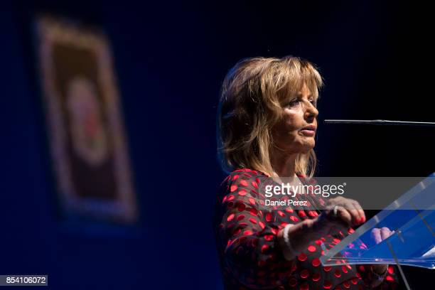 Maria Teresa Campos attends the appointment of Adopted Sons of Malaga on September 26 2017 in Malaga Spain