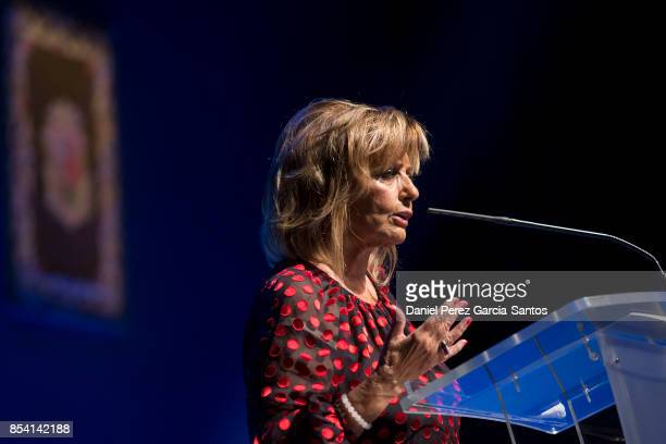 Maria Teresa Campos attends the appointment of Dani Rovira and Maria Teresa Campos as favorite and adopted sons of Malaga on September 26 2017 in...