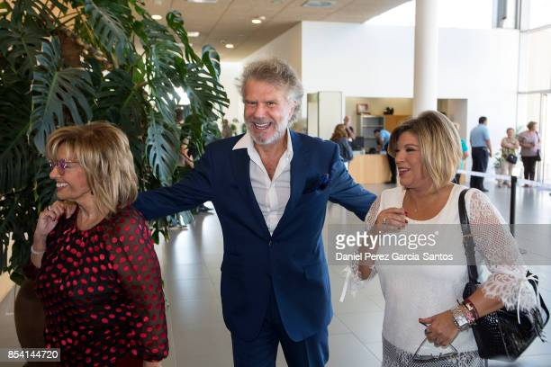 Maria Teresa Campos Bigote Arrocet and Terelu Campos attend the appointment of Dani Rovira and Maria Teresa Campos as favorite and adopted sons of...