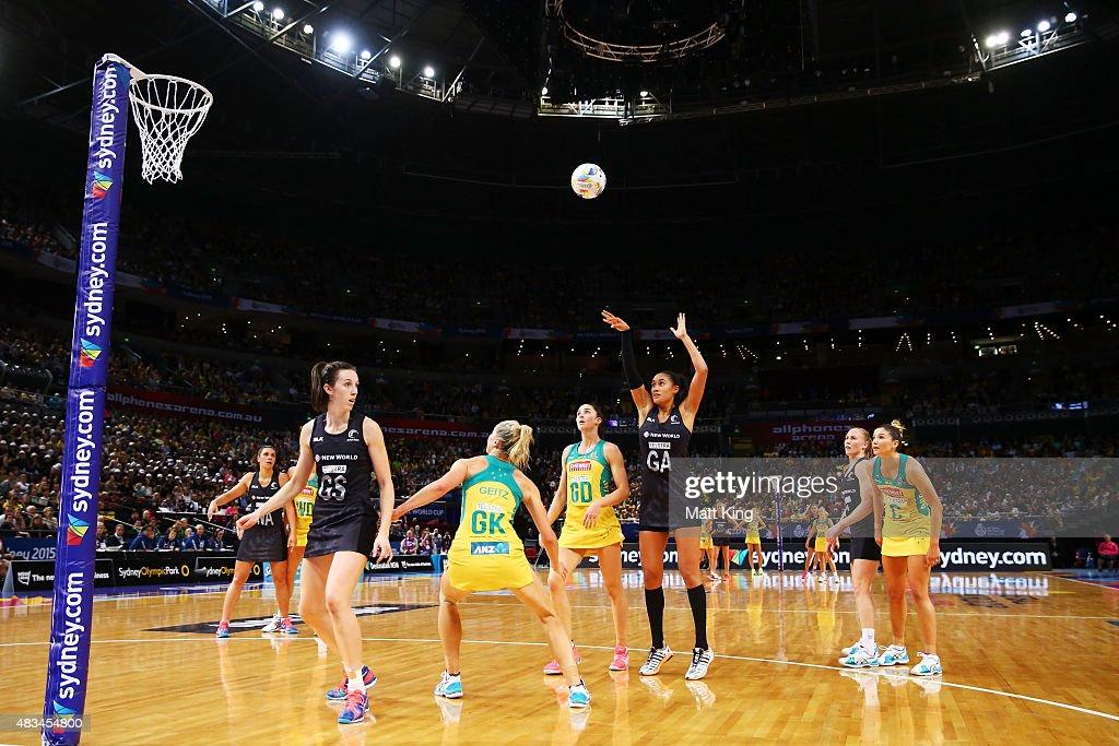 2015 Netball World Cup - Australia v New Zealand