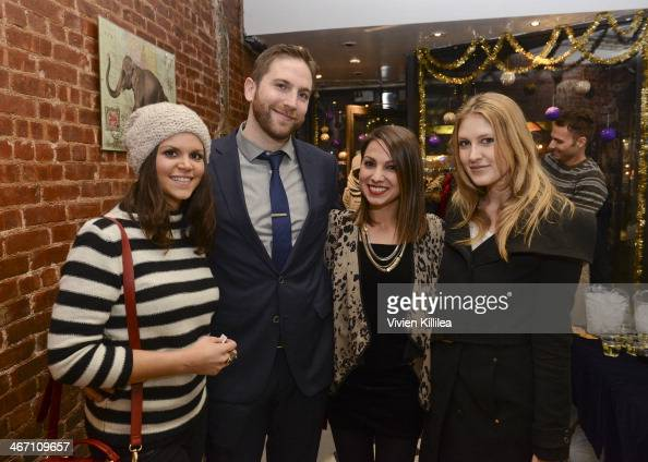 Maria Urso Mark O'Mara Sarah Boyd and Rachael Dickhute attend Sarah Boyd x CapwellCo Jewelry Collaboration NYFW Launch on February 5 2014 in New York...