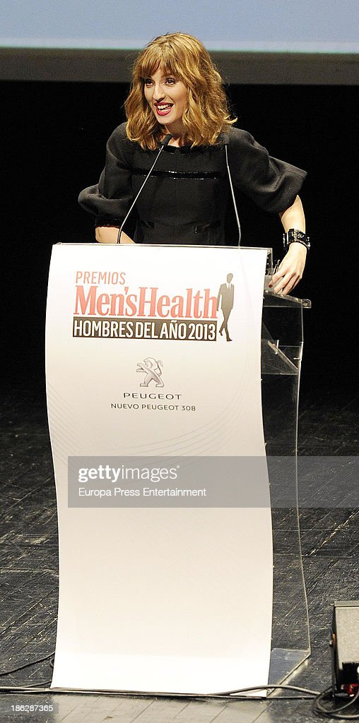 <a gi-track='captionPersonalityLinkClicked' href=/galleries/search?phrase=Maria+Valverde&family=editorial&specificpeople=235988 ng-click='$event.stopPropagation()'>Maria Valverde</a> attends Men's Health Awards 2013 at Teatros del Canal on October 29, 2013 in Madrid, Spain.