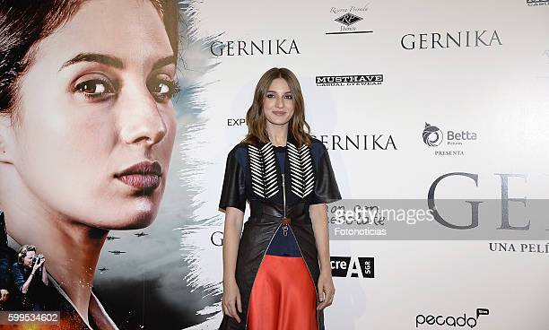 Maria Valverde attends the 'Gernika' premiere at Palafox cinema on September 5 2016 in Madrid Spain