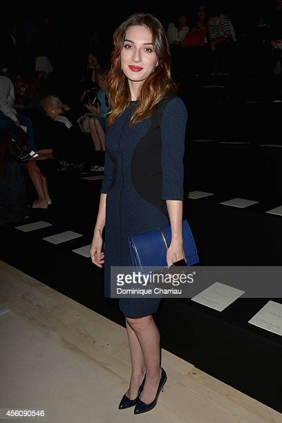 Maria Valverde attends the Nina Ricci show as part of the Paris Fashion Week Womenswear Spring/Summer 2015 on September 25 2014 in Paris France