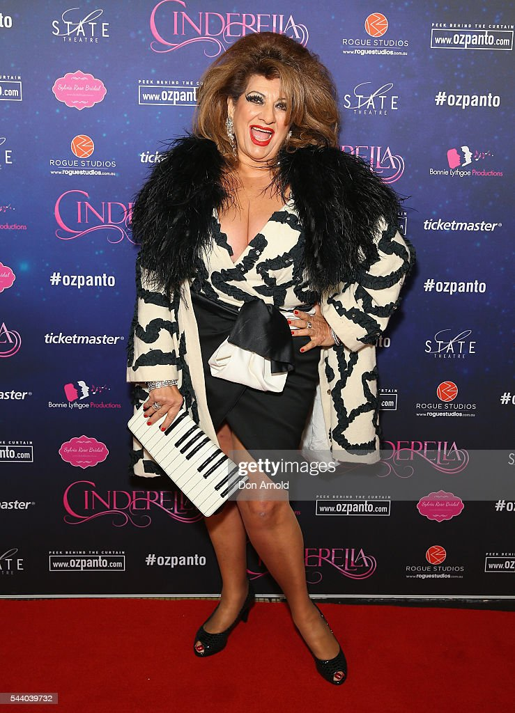 <a gi-track='captionPersonalityLinkClicked' href=/galleries/search?phrase=Maria+Venuti&family=editorial&specificpeople=211618 ng-click='$event.stopPropagation()'>Maria Venuti</a> arrives ahead of opening night of Cinderella at State Theatre on July 1, 2016 in Sydney, Australia.