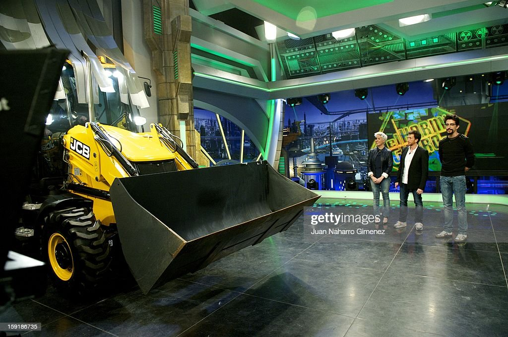 Maria Villota attends 'El Hormiguero' Tv show at Vertice Studio on January 9, 2013 in Madrid, Spain.