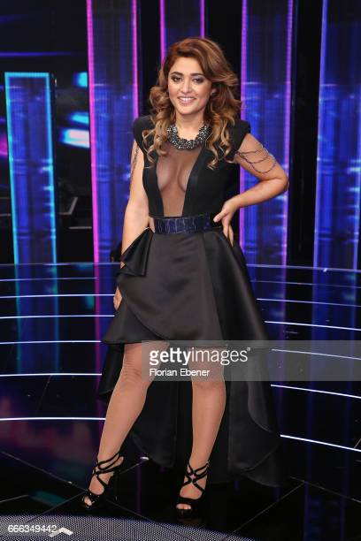 Maria Voskania during the first event show of the tv competition 'Deutschland sucht den Superstar' at Coloneum on April 8 2017 in Cologne Germany 13...