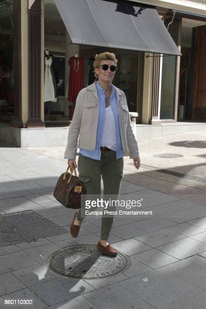 Maria Zurita attends the 74th birthday of her father the King Juan Carlos's brotherinlaw Doctor Carlos Zurita on October 9 2017 in Madrid Spain