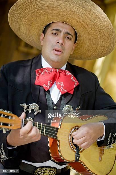 Mariachi Playing Guitar