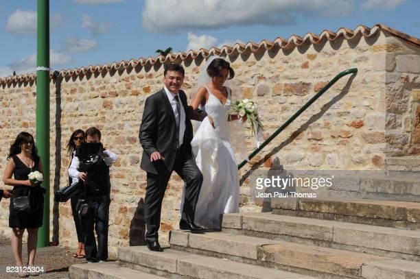 Mariage de Clemence Catherin et Sidney Govou Eglise de Replonge