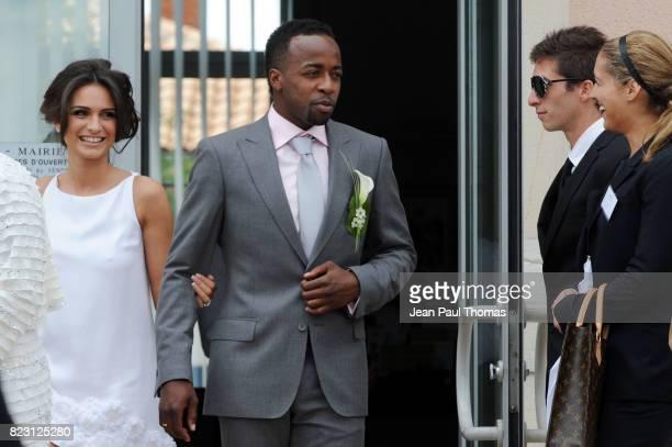 Mariage de Clemence Catherin et Sidney Govou Mairie de Replonge