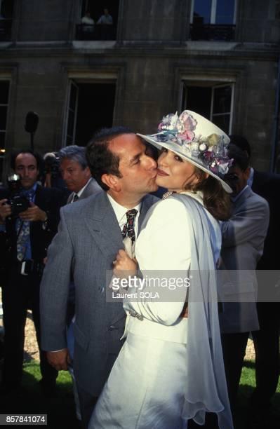 Mariage de PaulLoup Sulitzer et Delphine Jacobson le 24 juin 1993 a Paris France