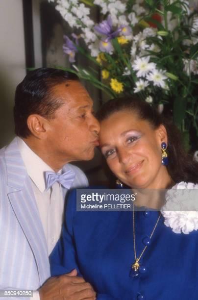 Mariage d'Henri Salvador et Sabine de Ricou le 23 juin 1986 France