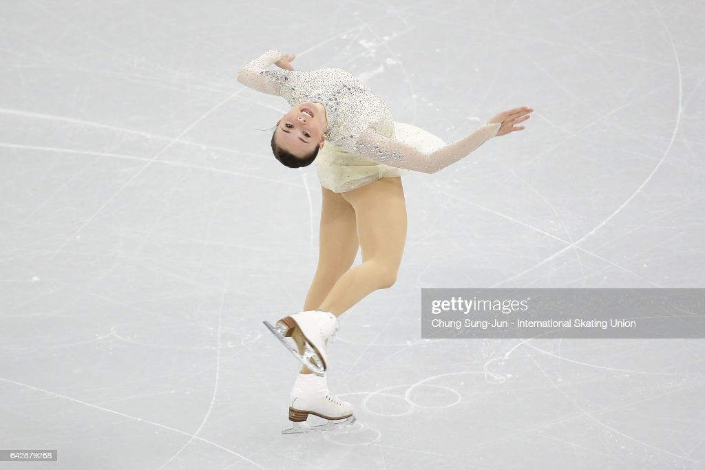 Mariah Bell of United States competes in the Ladies free program during ISU Four Continents Figure Skating Championships - Gangneung -Test Event For PyeongChang 2018 at on February 18, 2017 in Gangneung, South Korea.