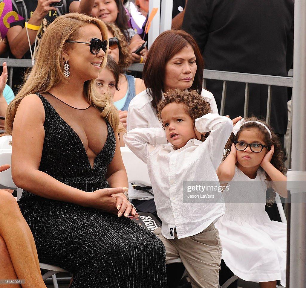 Mariah Carey Kids Mariah Carey Honored W...