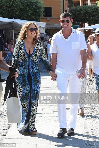 Mariah Carey And James Packer are seen on June 26 2015 in Portofino