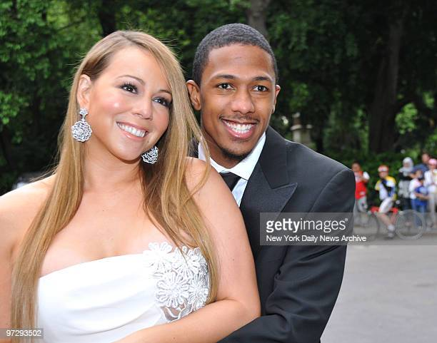 Mariah Carey and Nick Cannon at the Fresh Air Fund 'Salute To American Heroes' held at Tavern On The Green