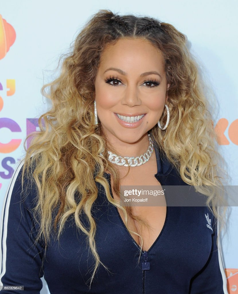 Mariah Carey arrives at the Nickelodeon's 2017 Kids' Choice Awards at USC Galen Center on March 11, 2017 in Los Angeles, California.