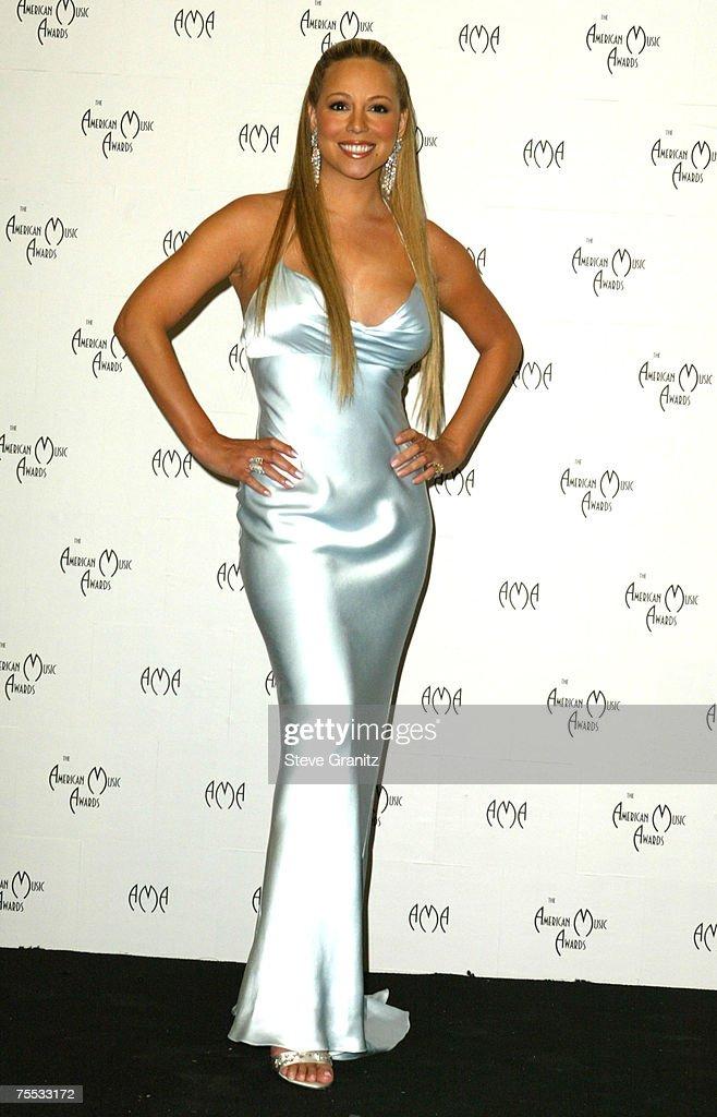 Mariah Carey at the Shrine Auditorium in Los Angeles, California
