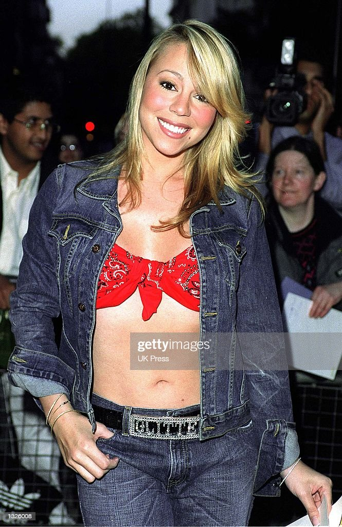 Mariah Carey attends a party to promote her new single 'Loverboy' and new album 'Glitter' July 12, 2001 at Home House in London.