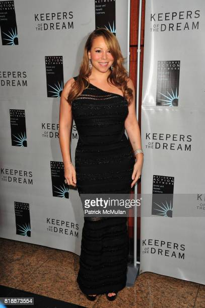 Mariah Carey attends THE 12th ANNUAL KEEPERS OF THE DREAM AWARDS at Sheraton NY Hotel and Towers NYC on April 15 2010