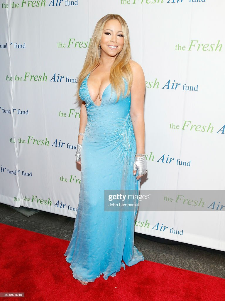 <a gi-track='captionPersonalityLinkClicked' href=/galleries/search?phrase=Mariah+Carey&family=editorial&specificpeople=171647 ng-click='$event.stopPropagation()'>Mariah Carey</a> attends the 2014 Fresh Air Fund Honoring Our American Hero at Pier Sixty at Chelsea Piers on May 29, 2014 in New York City.