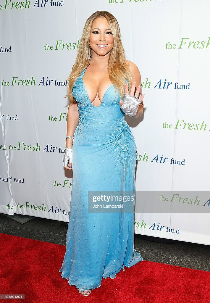Mariah Carey attends the 2014 Fresh Air Fund Honoring Our American Hero at Pier Sixty at Chelsea Piers on May 29 2014 in New York City