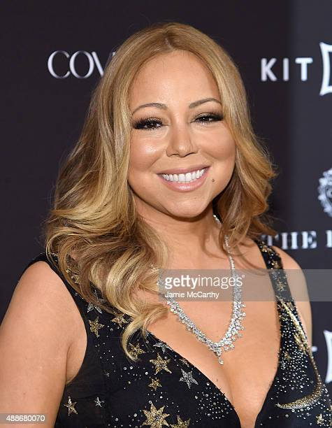 Mariah Carey attends the 2015 Harper's BAZAAR ICONS Event at The Plaza Hotel on September 16 2015 in New York City