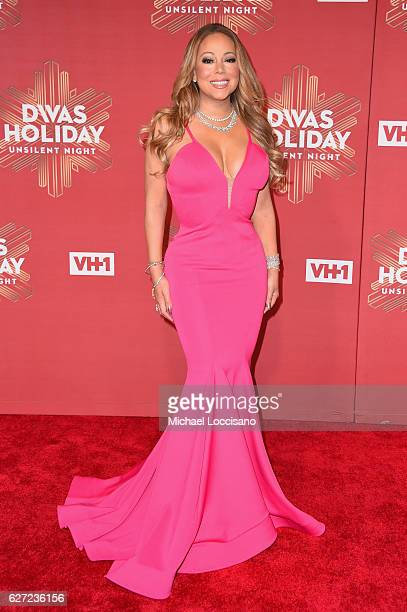 Mariah Carey attends the 2016 VH1's Divas Holiday Unsilent Night at Kings Theatre on December 2 2016 in New York City