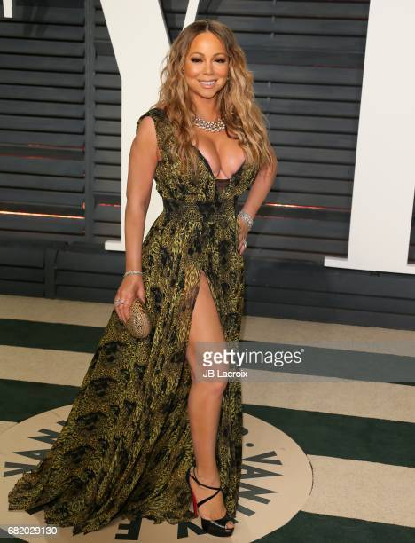 Mariah Carey attends the 2017 Vanity Fair Oscar Party hosted by Graydon Carter at Wallis Annenberg Center for the Performing Arts on February 26 2017...