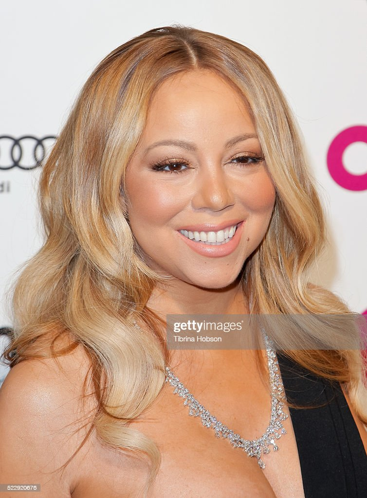 Mariah Carey attends the 24th annual Elton John AIDS Foundation's Oscar Party on February 28 2016 in West Hollywood California