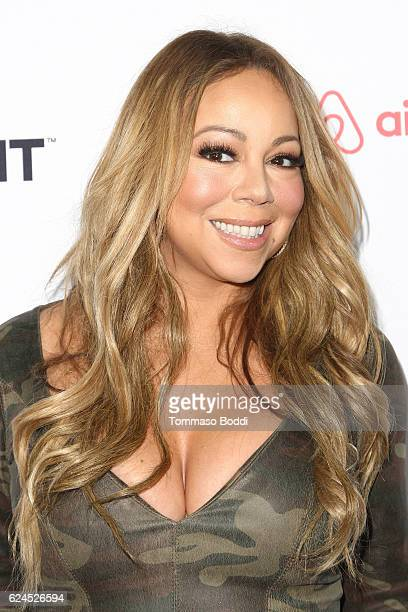 Mariah Carey attends the 3rd Annual Airbnb Open Spotlight at Various Locations on November 19 2016 in Los Angeles California