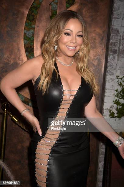Mariah Carey attends the MC Records Launch Party a joint venture with Epic Records at CATCH LA on May 1 2017 in West Hollywood California