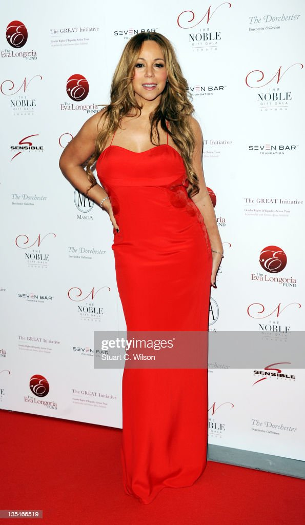 <a gi-track='captionPersonalityLinkClicked' href=/galleries/search?phrase=Mariah+Carey&family=editorial&specificpeople=171647 ng-click='$event.stopPropagation()'>Mariah Carey</a> attends the Noble Gift Gala at The Dorchester on December 10, 2011 in London, England.