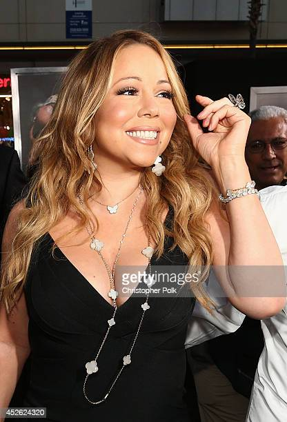 Mariah Carey attends the premiere of Paramount Pictures' HERCULES at TCL Chinese Theatre on July 23 2014 in Hollywood California