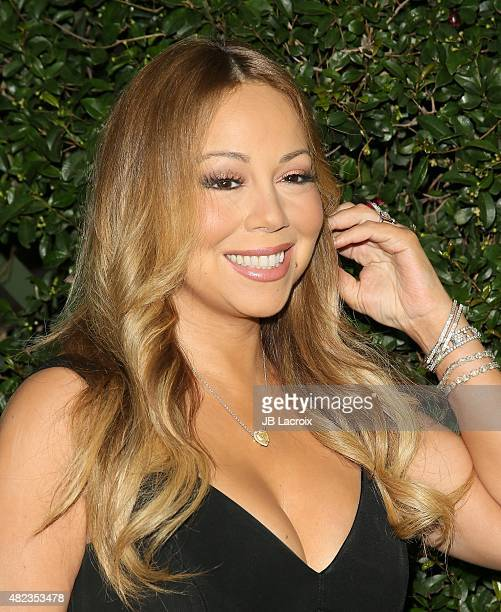 Mariah Carey attends the Summer TCA Tour Hallmark Channel and Hallmark Movies And Mysteries on July 29 2015 in Beverly Hills California